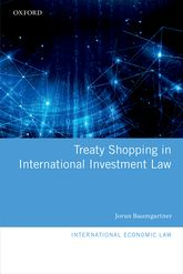 Treaty Shopping in International Investment Law - Oxford Scholarship Online