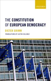 The Constitution of European Democracy$