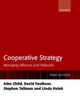 Cooperative StrategyManaging Alliances and Networks
