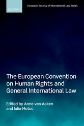 The European Convention on Human Rights and General International Law$