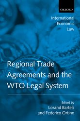 Regional Trade Agreements and the WTO Legal System$
