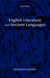 English Literature and Ancient Languages$