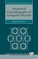 Structural Crystallography of Inorganic Oxysalts$
