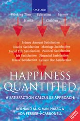 Happiness QuantifiedA Satisfaction Calculus Approach