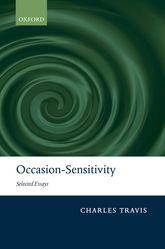 Occasion-SensitivitySelected Essays$