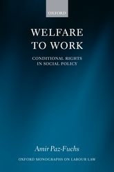 Welfare to Work – Conditional Rights in Social Policy | Oxford Scholarship Online