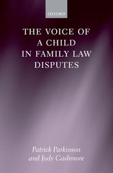 The Voice of a Child in Family Law Disputes$