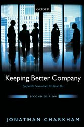 Keeping Better CompanyCorporate Governance Ten Years On$