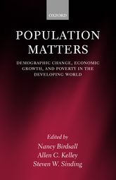 Population Matters – Demographic Change, Economic Growth, and Poverty in the Developing World | Oxford Scholarship Online
