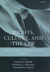 Rights, Culture and the Law
