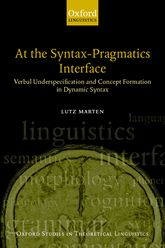 At the Syntax-Pragmatics Interface$