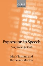 Expression in Speech