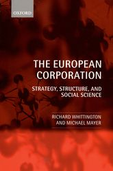 The European CorporationStrategy, Structure, and Social Science