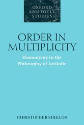 Order in MultiplicityHomonymy in the Philosophy of Aristotle$