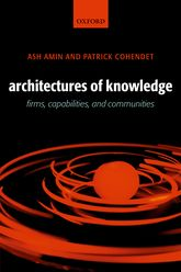 Architectures of Knowledge – Firms, Capabilities, and Communities - Oxford Scholarship Online