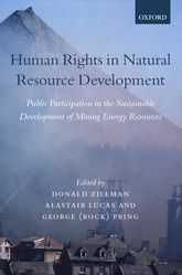 Human Rights in Natural Resource DevelopmentPublic Participation in the Sustainable Development of Mining and Energy Resources$