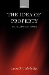 The Idea of Property: Its Meaning and Power