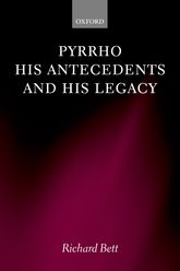 Pyrrho, his Antecedents, and his Legacy | Oxford Scholarship Online