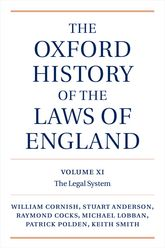 The Oxford History of the Laws of England: Volume XI1820–1914 English Legal System$