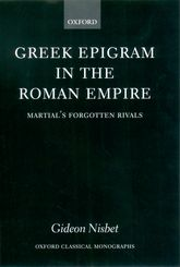 Greek Epigram in the Roman Empire$