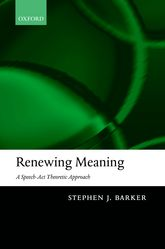 Renewing Meaning