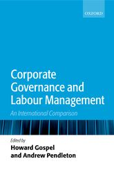 Corporate Governance and Labour Management – An International Comparison | Oxford Scholarship Online