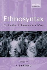 EthnosyntaxExplorations in Grammar and Culture