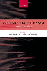 Welfare State Change – Towards a Third Way? - Oxford Scholarship Online