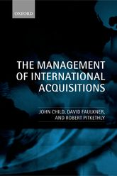 The Management of International Acquisitions$