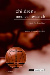 Children in Medical Research – Access versus Protection - Oxford Scholarship Online
