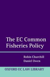 The EC Common Fisheries Policy - Oxford Scholarship Online