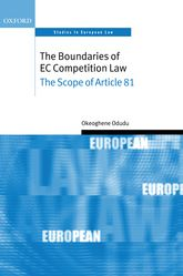 The Boundaries of EC Competition LawThe Scope of Article 81