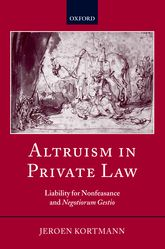 Altruism in Private LawLiability for Nonfeasance and Negotiorum Gestio$