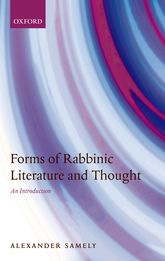 Forms of Rabbinic Literature and Thought