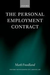 The Personal Employment Contract | Oxford Scholarship Online