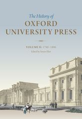 The History of Oxford University Press: Volume II1780 to 1896$
