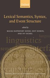 Lexical Semantics, Syntax, and Event Structure$