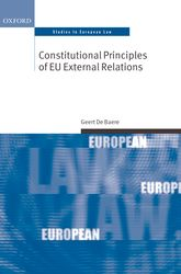Constitutional Principles of EU External Relations