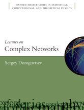 Lectures on Complex Networks$