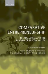 Comparative EntrepreneurshipThe UK, Japan, and the Shadow of Silicon Valley