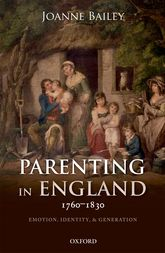 Parenting in England 1760-1830$