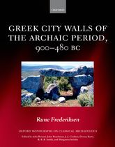 Greek City Walls of the Archaic Period, 900–480 BC$