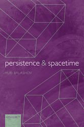Persistence and Spacetime | Oxford Scholarship Online