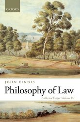 Philosophy of LawCollected Essays Volume IV$