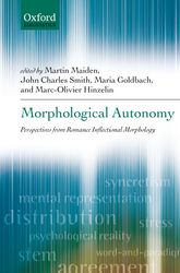 Morphological Autonomy$