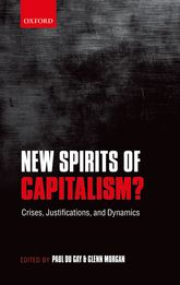 New Spirits of Capitalism?Crises, Justifications, and Dynamics$