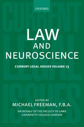 Law and NeuroscienceCurrent Legal Issues Volume 13