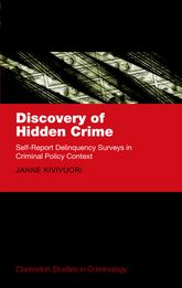 Discovery of Hidden CrimeSelf-Report Delinquency Surveys in Criminal Policy Context$