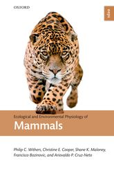 Ecological and Environmental Physiology of Mammals | Oxford Scholarship Online