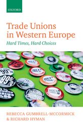Trade Unions in Western EuropeHard Times, Hard Choices$